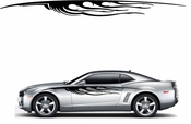 Flames Flame car flames Vinyl Decal Sticker Stickers MC381