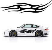 Flames Flame car flames Vinyl Decal Sticker Stickers MC382
