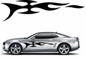 Flames Flame car flames Vinyl Decal Sticker Stickers MC387