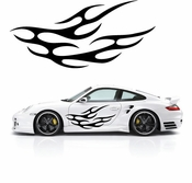 Flames Flame car flames Vinyl Decal Sticker Stickers MC388