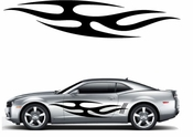 Flames Flame car flames Vinyl Decal Sticker Stickers MC390