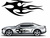 Flames Flame car flames Vinyl Decal Sticker Stickers MC391