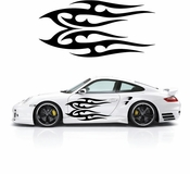 Flames Flame car flames Vinyl Decal Sticker Stickers MC400