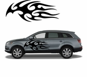 Flames Flame car flames Vinyl Decal Sticker Stickers MC401
