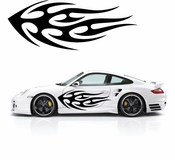 Flames Flame car flames Vinyl Decal Sticker Stickers MC402