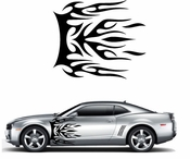 Flames Flame car flames Vinyl Decal Sticker Stickers MC407