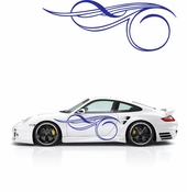 Pinstripe Pinstripes Car graphics Vinyl Decal Sticker Stickers MC01