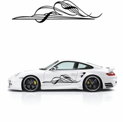Pinstripe Pinstripes Car graphics Vinyl Decal Sticker Stickers MC03