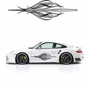 Pinstripe Pinstripes Car graphics Vinyl Decal Sticker Stickers MC07
