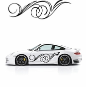 Pinstripe Pinstripes Car graphics Vinyl Decal Sticker Stickers MC09