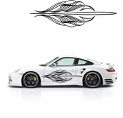 Pinstripe Pinstripes Car graphics Vinyl Decal Sticker Stickers MC11