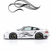 Pinstripe Pinstripes Car graphics Vinyl Decal Sticker Stickers MC21