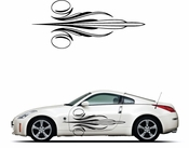 Pinstripe Pinstripes Car graphics Vinyl Decal Sticker Stickers MC23
