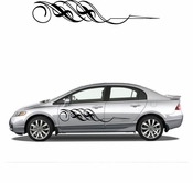 Pinstripe Pinstripes Car graphics Vinyl Decal Sticker Stickers MC35