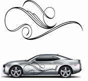 Pinstripe Pinstripes Car graphics Vinyl Decal Sticker Stickers MC45