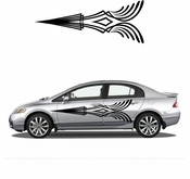 Pinstripe Pinstripes Car graphics Vinyl Decal Sticker Stickers MC47