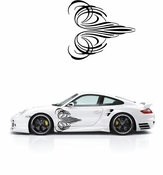 Pinstripe Pinstripes Car graphics Vinyl Decal Sticker Stickers MC50
