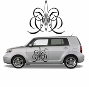 Pinstripe Pinstripes Car graphics Vinyl Decal Sticker Stickers MC52