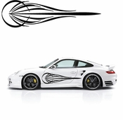 Pinstripe Pinstripes Car graphics Vinyl Decal Sticker Stickers MC54
