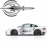 Pinstripe Pinstripes Car graphics Vinyl Decal Sticker Stickers MC58