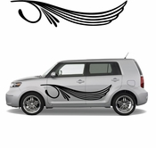 Pinstripe Pinstripes Car graphics Vinyl Decal Sticker Stickers MC59