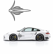 Pinstripe Pinstripes Car graphics Vinyl Decal Sticker Stickers MC60