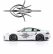 Pinstripe Pinstripes Car graphics Vinyl Decal Sticker Stickers MC62
