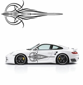 Pinstripe Pinstripes Car graphics Vinyl Decal Sticker Stickers MC64