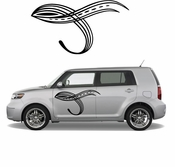 Pinstripe Pinstripes Car graphics Vinyl Decal Sticker Stickers MC65