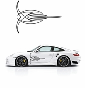 Pinstripe Pinstripes Car graphics Vinyl Decal Sticker Stickers MC66