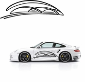 Pinstripe Pinstripes Car graphics Vinyl Decal Sticker Stickers MC67