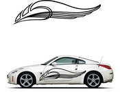 Pinstripe Pinstripes Car graphics Vinyl Decal Sticker Stickers MC69