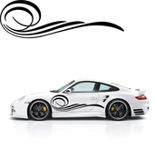 Pinstripe Pinstripes Car graphics Vinyl Decal Sticker Stickers MC70