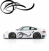 Pinstripe Pinstripes Car graphics Vinyl Decal Sticker Stickers MC72