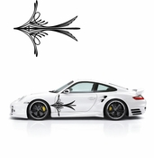 Pinstripe Pinstripes Car graphics Vinyl Decal Sticker Stickers MC73