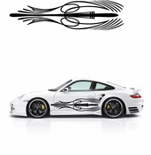 Pinstripe Pinstripes Car graphics Vinyl Decal Sticker Stickers MC75