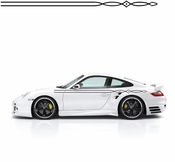 Pinstripe Pinstripes Car graphics Vinyl Decal Sticker Stickers MC79