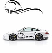 Pinstripe Pinstripes Car graphics Vinyl Decal Sticker Stickers MC82
