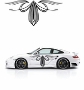 Pinstripe Pinstripes Car graphics Vinyl Decal Sticker Stickers MC83