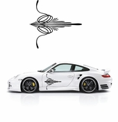 Pinstripe Pinstripes Car graphics Vinyl Decal Sticker Stickers MC85