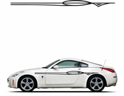 Pinstripe Pinstripes Car graphics Vinyl Decal Sticker Stickers MC89