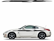 Pinstripe Pinstripes Car graphics Vinyl Decal Sticker Stickers MC90