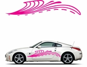 Pinstripe Pinstripes Car graphics Vinyl Decal Sticker Stickers MC93