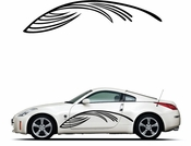 Pinstripe Pinstripes Car graphics Vinyl Decal Sticker Stickers MC97