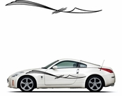 Pinstripe Pinstripes Car graphics Vinyl Decal Sticker Stickers MC101
