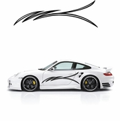Pinstripe Pinstripes Car graphics Vinyl Decal Sticker Stickers MC107