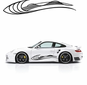 Pinstripe Pinstripes Car graphics Vinyl Decal Sticker Stickers MC111