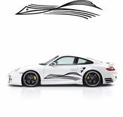 Pinstripe Pinstripes Car graphics Vinyl Decal Sticker Stickers MC119