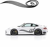 Pinstripe Pinstripes Car graphics Vinyl Decal Sticker Stickers MC135