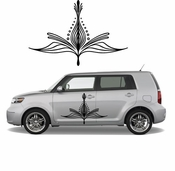Pinstripe Pinstripes Car graphics Vinyl Decal Sticker Stickers MC137